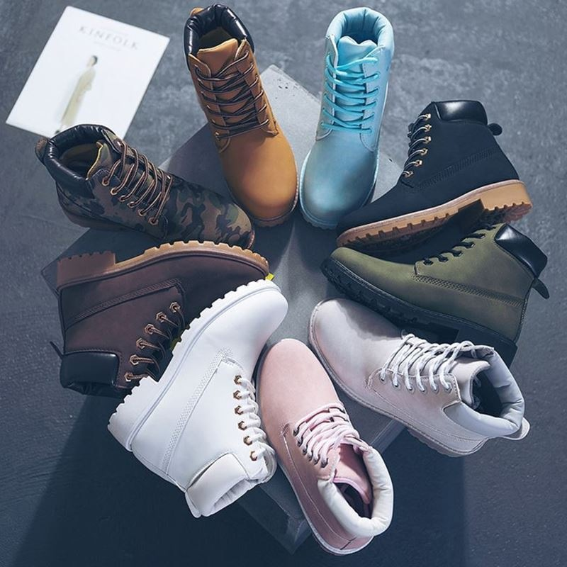 Winter ankle boots women shoes 2020 warm plush snow boots women square heels winter shoes woman botas botines mujer boot shoes snow boots shoesboots women shoes - AliExpress