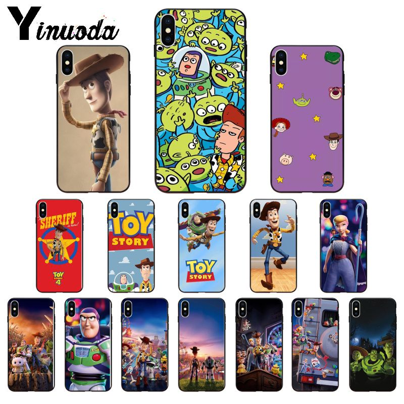 Yinuoda <font><b>Toy</b></font> <font><b>Story</b></font> Woody Customer High Quality Phone Case for Apple <font><b>iPhone</b></font> 8 7 6 <font><b>6S</b></font> Plus X XS MAX 5 5S SE XR Mobile Cover image