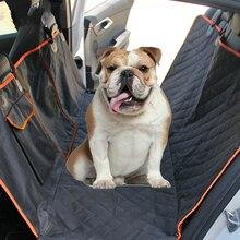 Evcil hayvan taşıyıcı köpekler için su geçirmez arka arka taşıma köpek araba klozet kapağı hamak paspaslar Transportin Perro coche autostoel honda otomatik