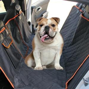 Image 1 - Pet Träger Für Hunde Wasserdicht Hinten Zurück Durchführung Hund Auto Sitz Abdeckung Hängematte Matten Transportin Perro coche autostoel hond auto