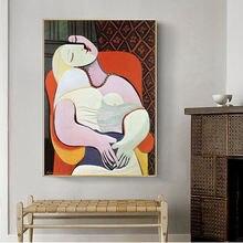 Картины на холсте со знаменитой мечтой Пикассо картины стену