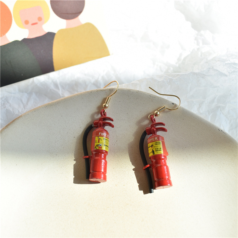 Fire Extinguisher Earrings 3