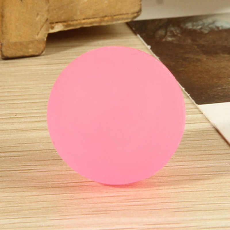 12Pcs גבוהה להקפיץ גומי כדור זוהר קטן קופצני כדור Pinata חומרי מילוי ילדים צעצוע מסיבת לטובת זוהר שקית כהה מסיבת יום הולדת