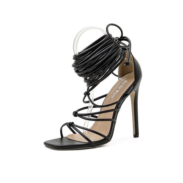 GENSHUO Summer Women Sandals 7