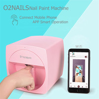 Mobile Nail Printer 3D Automatic Nail Painting Easy All Intelligent Print Machine Manicure Equipment O'2nails Nail Art Tools