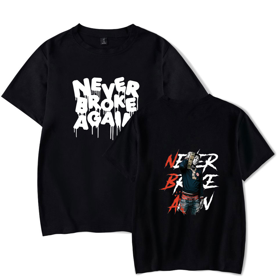 2020 NEW YoungBoy Never Broke Again T Shirt For Men NBA YoungBoy Printed Oversize O-neck Short Sleeve Women Funny T Shirt