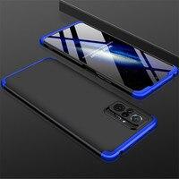 3 IN 1 Fall Für Xiaomi Redmi Hinweis 10 pro max 10s Fall 360 Volle Schutz Fall Shockprrof Matte telefon Abdeckung für Redmi Note10