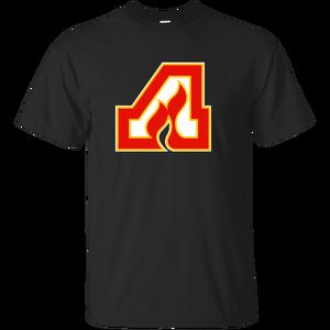 Atlanta Flames, Hockey, Hawks, Braves, Retro, Logo G200Ultra Cotton T-Sh Cool Casual pride t shirt men Unisex New