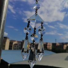 Crystal Chandelier Suncatcher Ornament Prisms Hanging-Pendant Window-Decor Icicle Camal