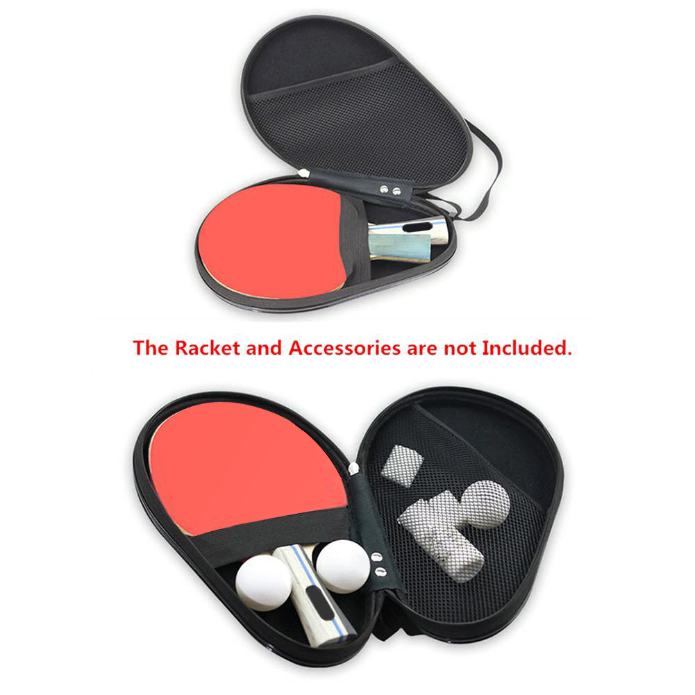 Professional Gourd Table Tennis Hard Case PU Waterproof Table Tennis Racket Bag Table Tennis Accessories New