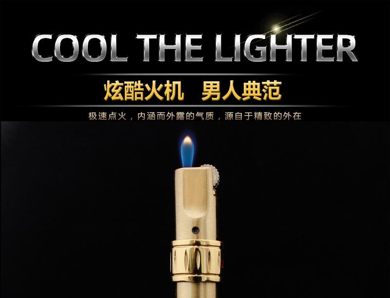 Новинка 2020 ветрозащитная зажигалка Бесплатная огневая Бутановая
