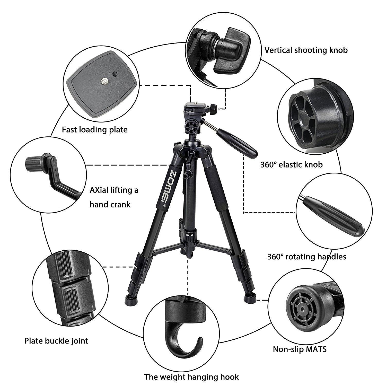 Штатив для цифровой зеркальной камеры, фотографии, телефона, видео, фотографии, Камары, профессиональное крепление, Телескопическая Подста
