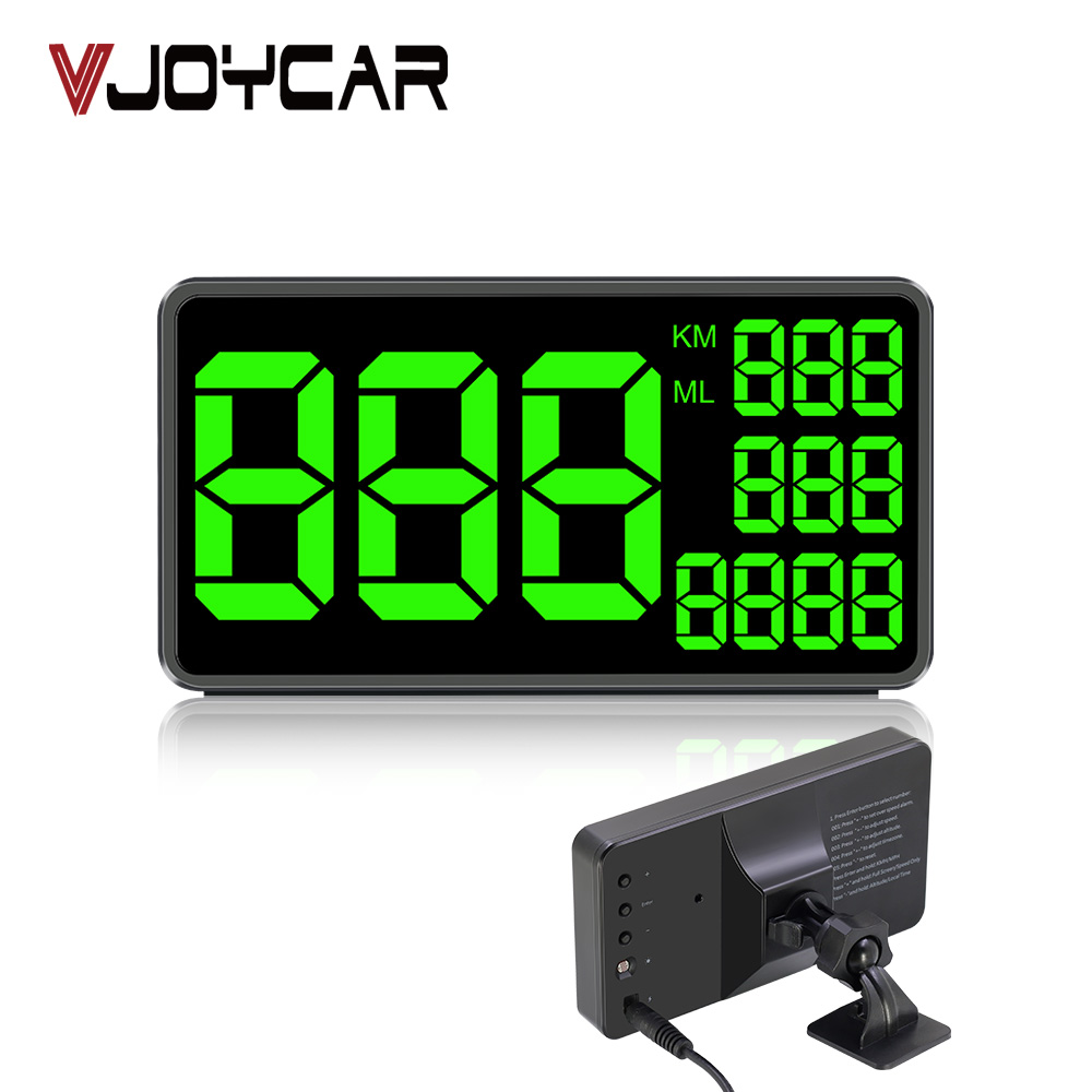 GPS Speedometer C60 Hud Display Car KM/h MPH <font><b>Aliexpress</b></font> Cheap C80 Auto Electronics Speed Display C90 C1090 Large Screen A100 Hud image