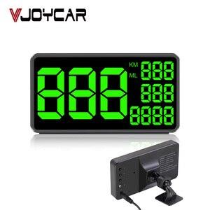Image 1 - Prędkościomierz GPS C60 wyświetlacz samochodowy HUD KM/h MPH chiny tanie C80 elektronika samochodowa wyświetlacz prędkości C90 C1090 duży ekran A100 Hud