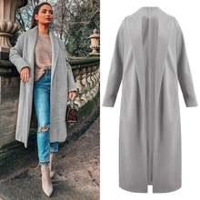 Женская зимняя куртка длинное пальто женское Стильное элегантное