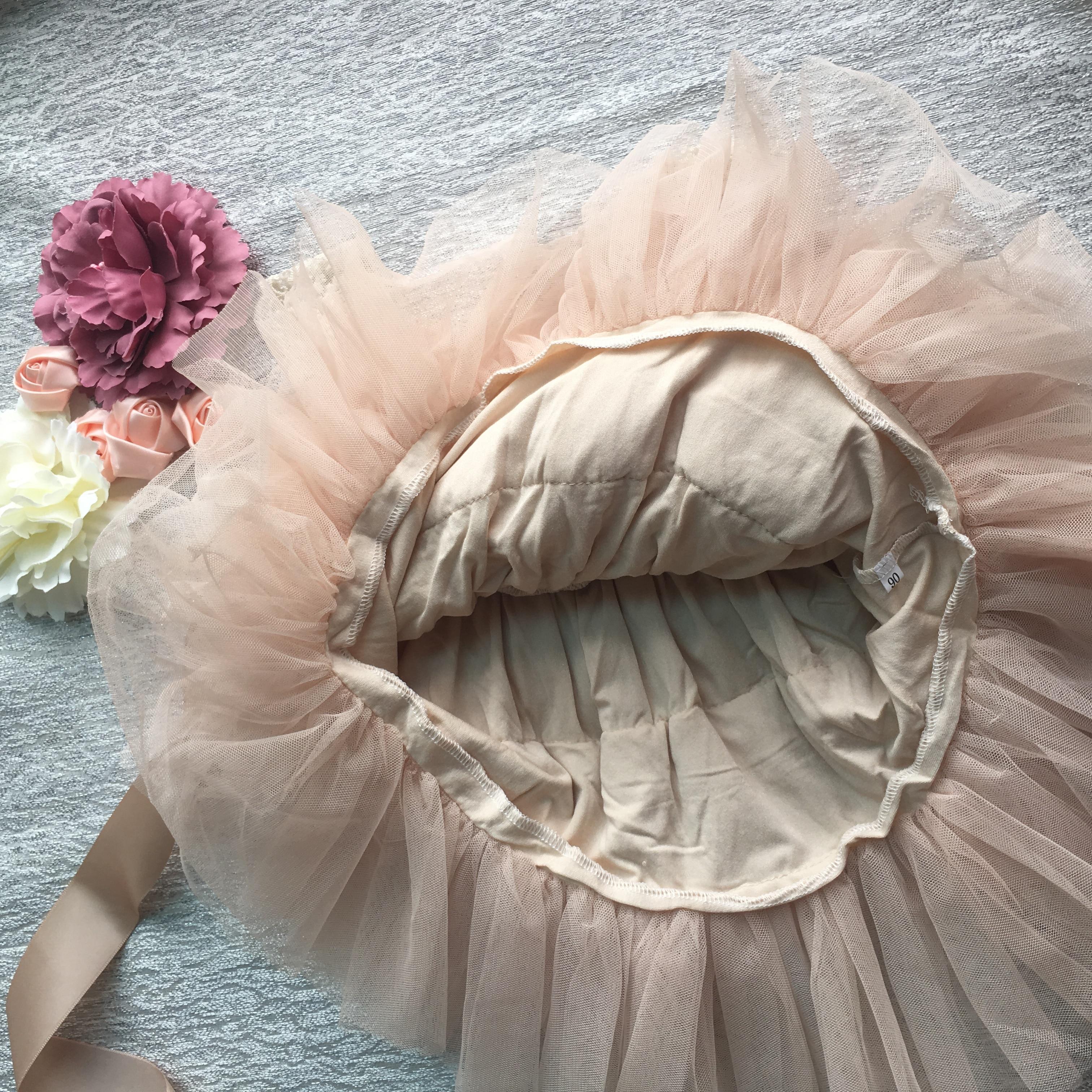Retail Gorgeous Rhinestone Sashes Girl Evening Dress Baby Girl Lace Sling Princess Tutu Dress Kids Formal Costume 4