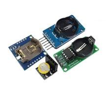 Модуль DS3231 AT24C32 IIC, модуль прецизионных часов DS1302, модуль памяти DS1307, мини-модуль в реальном времени 3,3 В/5 В для Raspberry Pi