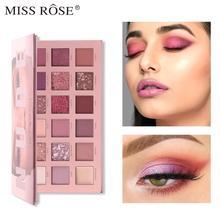 Eyeshadow Makeup Miss Rose 18 Color Marble Set Starry Pearlescent Matte Mashed Potato Sunset Desert New