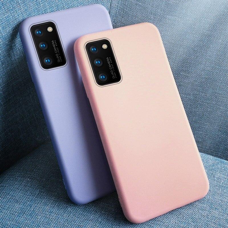 Жидкий силиконовый бампер для Samsung Galaxy A21S A51 A31 A41 A71 A21 A11 A01 A50 A70 M31 M21 M30S S20 Чехол Оригинальный чехол для телефона