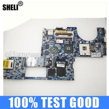 Laptop Moederbord Sheli Pc Voor Dell Studio Xps 1640 PP35L DA0RM2MBAH0 CN-0P743D 0P743D Main Board HD3670 Notebook DDR3 Test Ok
