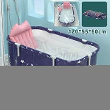 Folding Bathtub Adult Portable SPA Sauna Bathing Bucket Bathing Bucket Water Bathing Bucket Cushion Inflatable Hot Tub