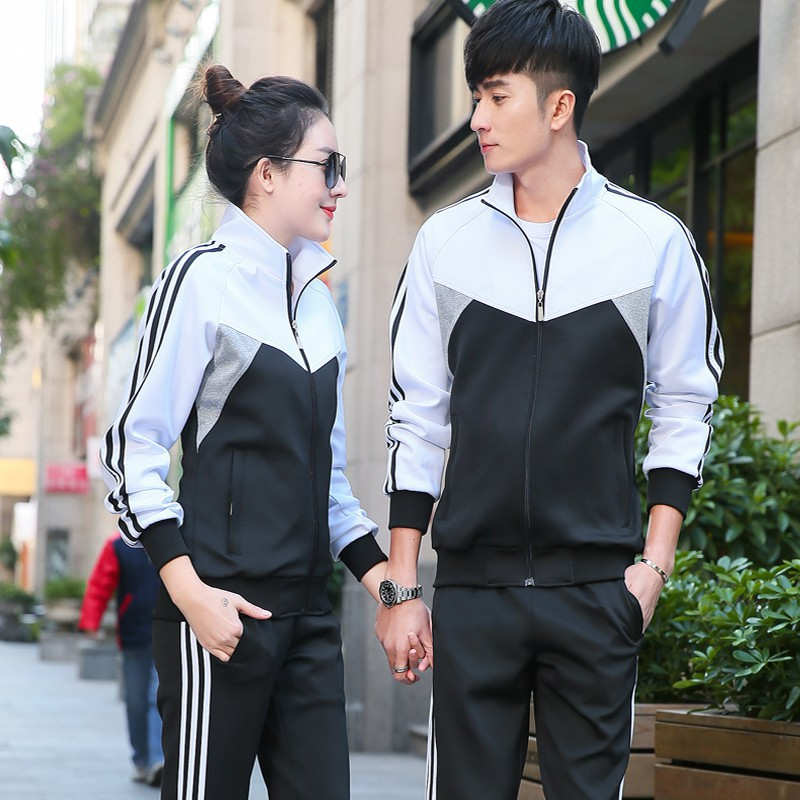 Junior High School Uniform Business Attire Set Men And Women Autumn Clothing Casual Wear Sports Clothing Two-Piece Set Spring An