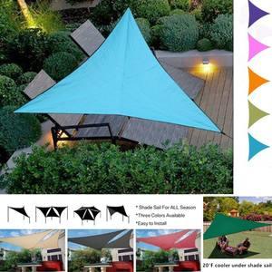 Canopy Awning Sunshade Sail SUN-SHELTER Garden-Patio-Pool Triangular Waterproof Tent