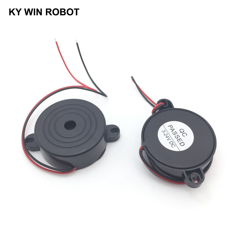3-24V Piezo Electronic Active Buzzer Alarm 95DB High Decibel Continuous Sound Beeper For Arduino Car Van