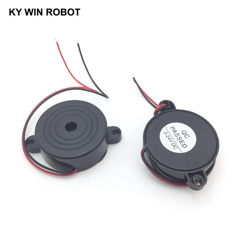 3-24V Piezo Electronic Active Buzzer Alarm 95DB High Decibel Continuous Sound Beeper For Arduino Car Van