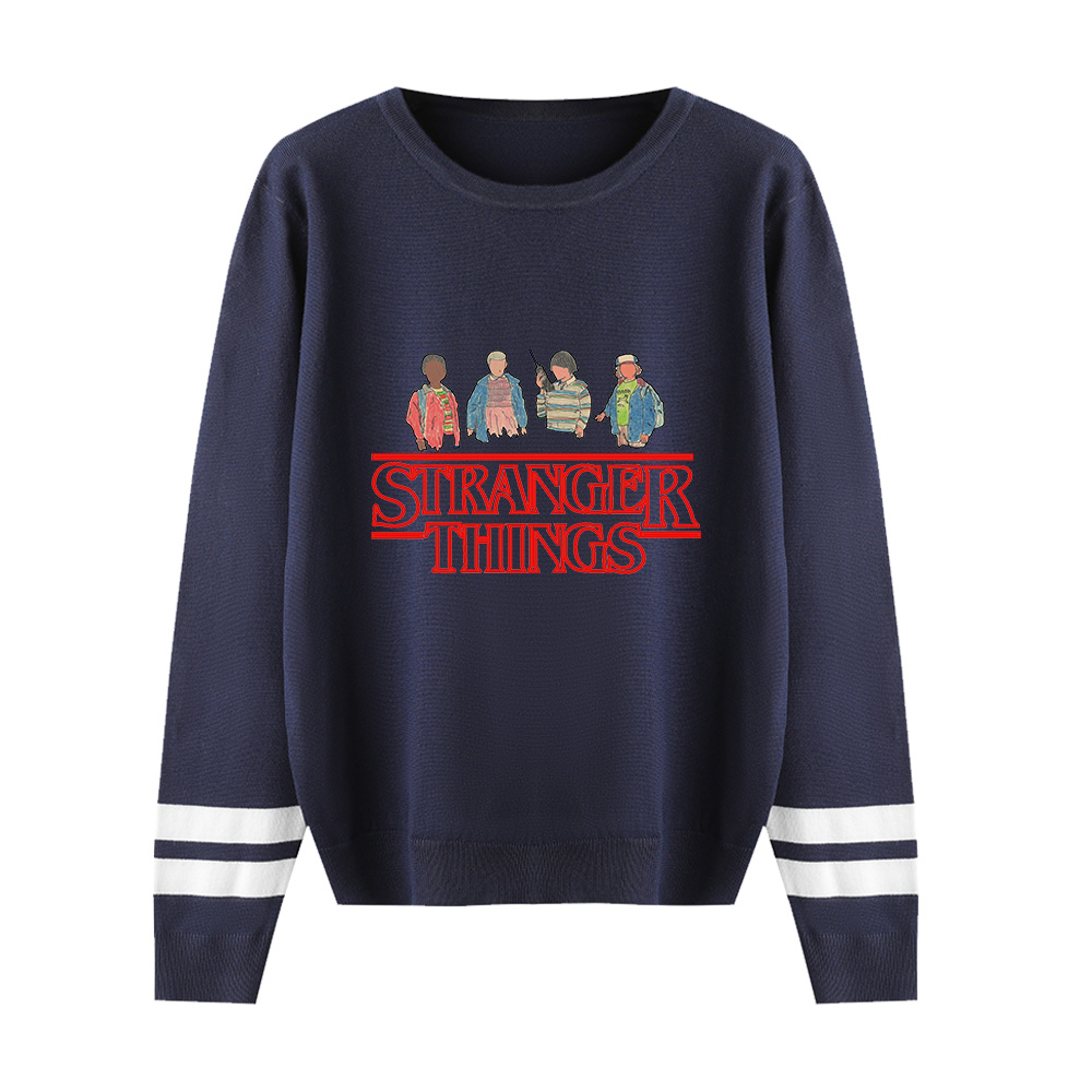Stranger Things O-neck Sweater Men/women Fashion Print Knitted Pullovers Sweater Stranger Things Sweater Women's Casual Clothing