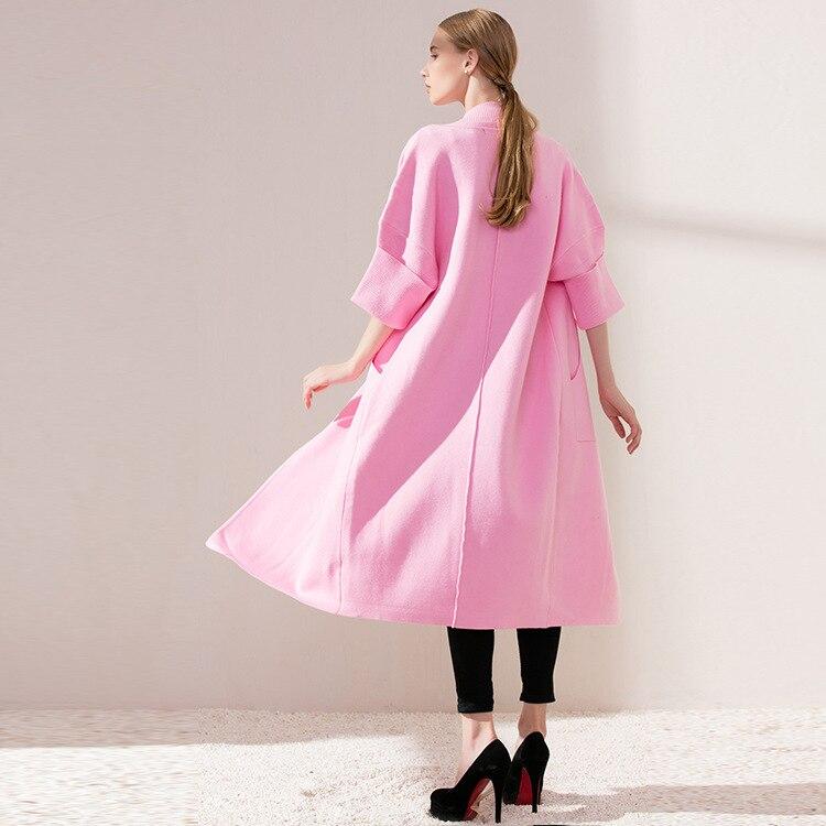 Newest 2020 Autumn Fashion Women Long Sleeve Knitting Cardigan Sweater Womens European Loose Cardgans Knitwear LX1843