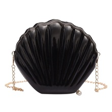 Women Handbags Candy Color Jelly Bags Purse Shell Small PVC Crossbody Personality Pure Womens Shoulder