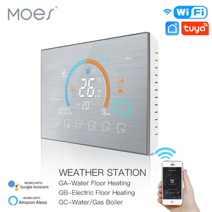 Image 1 - WiFi Thermostat Programmable Temperature Controller Underfloor Water/Gas Boiler Weather Station Tuya Smart Alexa Voice Control