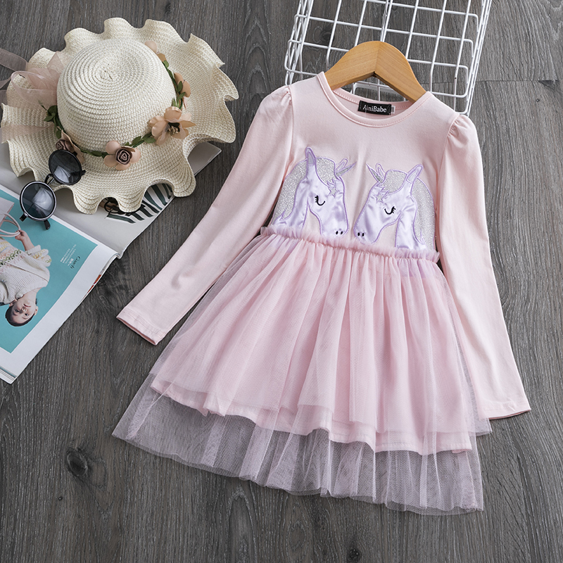 H4bdf1ee8880541ea81d5c4ef2fb5beecF Children Formal Clothes Kids Fluffy Cake Smash Dress Girls Clothes For Christmas Halloween Birthday Costume Tutu Lace Outfits 8T