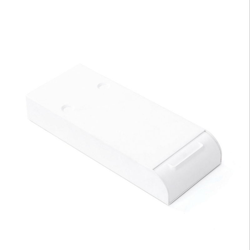 Stationery Pencil Case Under the Table Plastic Office Desk with Small Drawer Creative Storage Box|  - title=