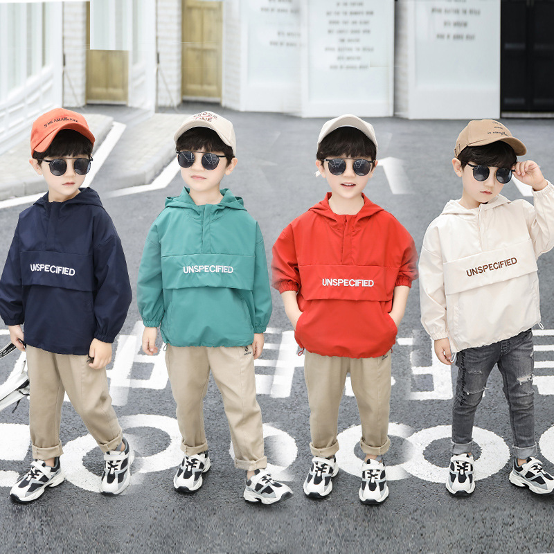 BOY'S Autumn Clothing Coat 2019 New Style Pullover Children Boy Childrenswear Children Korean-style Western Style Tops Spring An