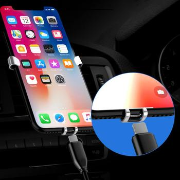Universal Gravity Anti-slip Car Air Vent Mount Mobile Phone Stand Bracket Holder Car Interior Accessories Boutique Wholesale image