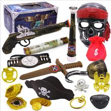 Role playing toy party equipment Pirate Weapons Sword Caribbean Scary Pirate Mis