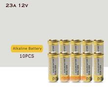 10 шт./лот Малый электрический 23A 12V 21/23 A23 E23A MN21 MS21 V23GA L1028 cухая щелочная батарея