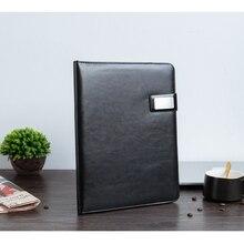 Папка для документов формата А4 из искусственной кожи, сумка для конференций, деловой портфель, Офисная школьная папка для документов, папка для документов с калькулятором