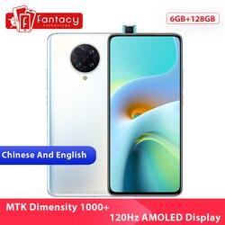 Новая китайская версия Xiaomi Redmi K30 Ultra 6 ГБ 128 Гб Смартфон MTK Dimensity 1000 + Восьмиядерный 6,67 дюйм120 Гц AMOLED дисплей