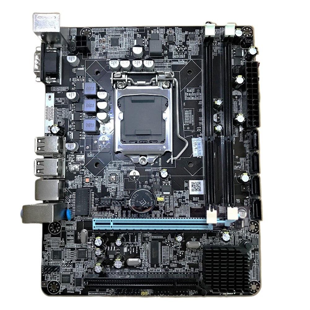 2020 Newest Intel P55 LGA1156 Motherboard DDR3 LGA 1156 Computer Motherboard Desktop Support CPU Xeon I3 I5 I7 LGA-1156