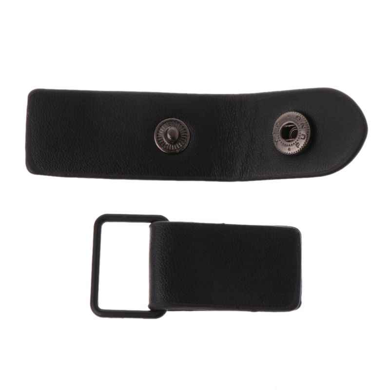 Deri geçiş düğmeleri Metal toka çanta için ceket ceket spor kazak DIY Scrapbooking dikiş kumaş aksesuarları D2TD