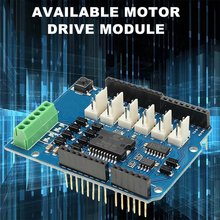 L298N L298P Uno Motor Drive Module For Uno Motor Shield R3 Pwm Speed Current Detection Uno Motor Expansion Board цена