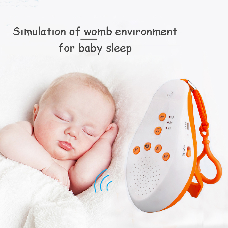 Free Shipping Recordable White Noise Machine Baby Mini Music Sleep Instrument Sleep Music Types To Improve Sleep Quality Sleep