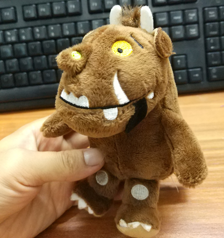 14cm Cartoon The Gruffaloes Cow Plush Toys Doll Peluche New Arrivals Stuffed Animals Plush Toy Children Baby Gift