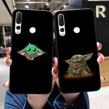 HPCHCJHM Lovely Baby Yoda DIY Printing Phone Case cover Shell for Huawei Honor 30 20 10 9 8 8x 8c v30 Lite view pro hpchcjhm caravaggio the soul and the blood phone case cover shell for huawei honor 30 20 10 9 8 8x 8c v30 lite view pro