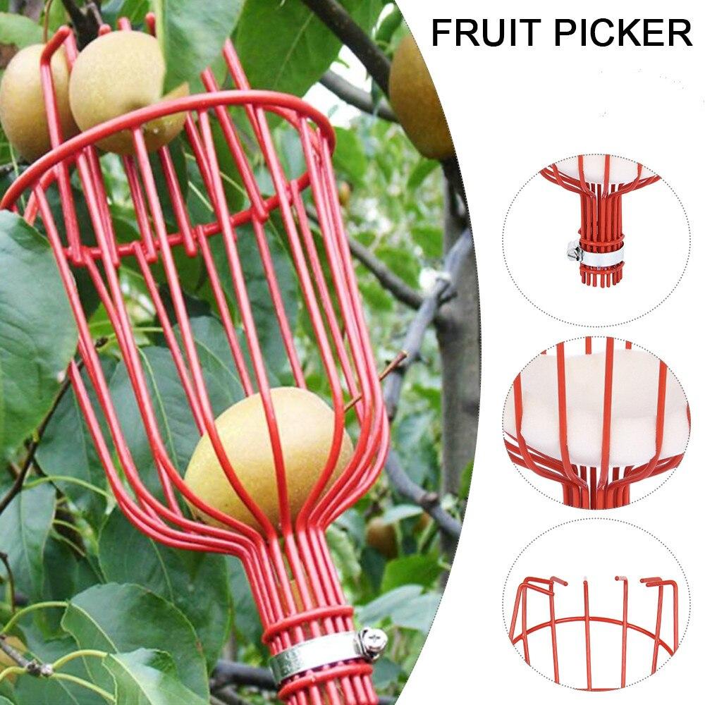 Garden Tools Fruit Picker Gardening Fruits Collection Picking Head Tool Fruit Catcher Device Greenhouse Fruit Picker