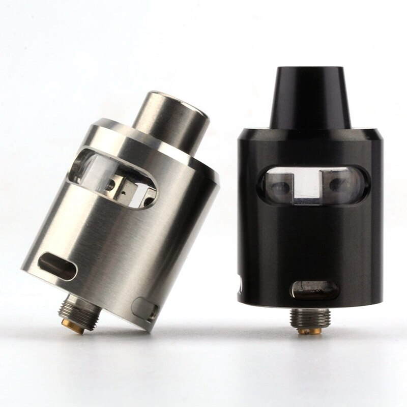 Classic T RDA Tank Glass Window Atomizer 24mm DIY Coil Drip Tip 510 Thread Electronic Cigarette Vaporizer Atomizer