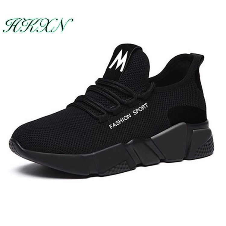 Nieuwe Vrouwen Casual Schoenen Mode Ademend Lichtgewicht Wandelschoenen Mesh Lace Up Platte Schoenen Sneakers Vrouwen Factory Direct